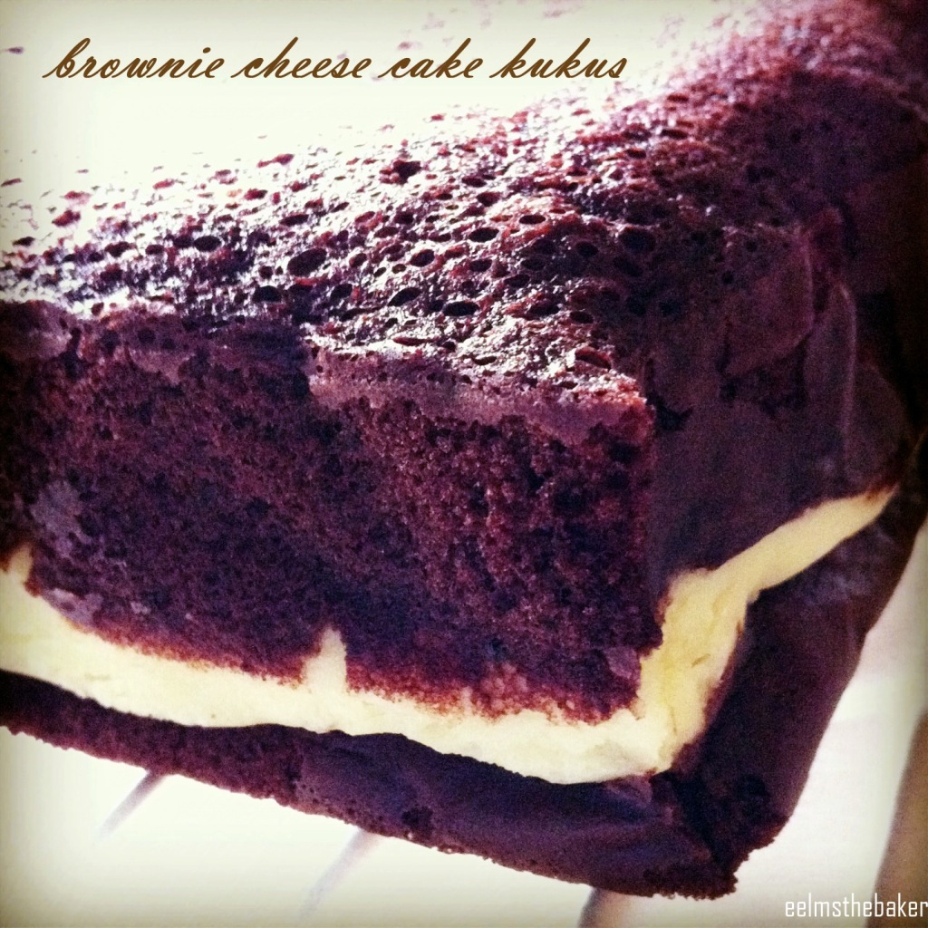 brownie cheese cake kukus